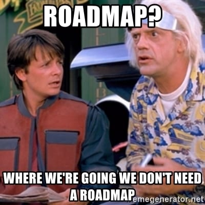 SEO Roadmap: strategy, example and template